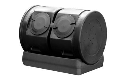 Good Ideas Junior Compost Wizard Dueling Tumbler Black Cw 2x Blk At Tractor Supply Co