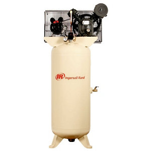Ingersoll Rand 2340l5 V 230v 1ph 2 Stage Air Compressor 60 Gal