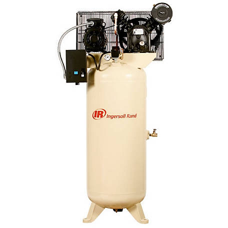 Ingersoll Rand 2340L5-V 200V-3Ph 2-stage Air Compressor, 60 gal.