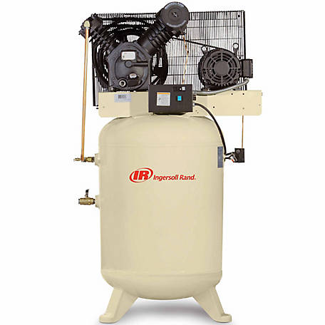 Ingersoll Rand 2545K10-VP Value Plus 460V-3Ph 2-Stage Air Compressor, 120 gal. Vertical