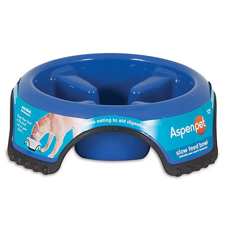 Aspen Pet Skid Stop Slow Feed Bowl