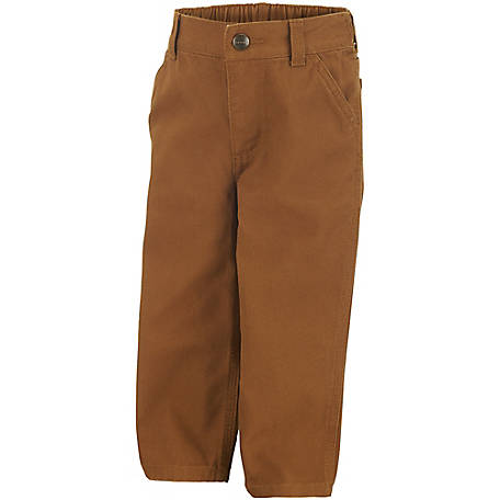 Carhartt Boys' Canvas Dungaree Pant