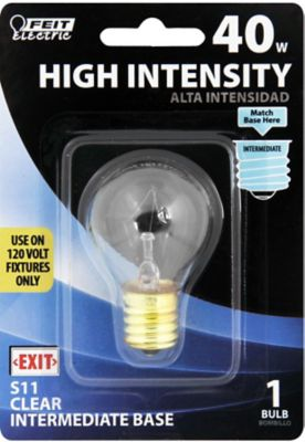 Buy Feit Electric 40 watt Incandescent S11N Hi-Intensity Appliance Bulb Online