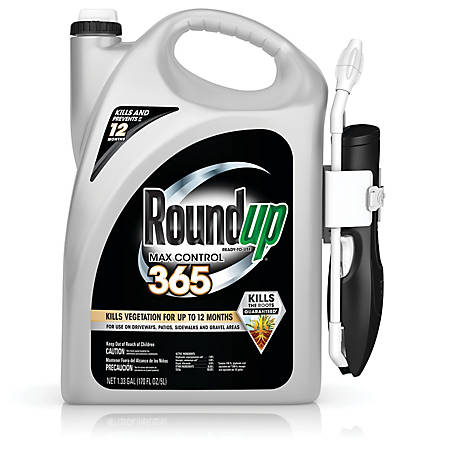 Roundup Ready-To-Use Max Control 365 with Comfort Wand, 1.33 GAL, 5000510