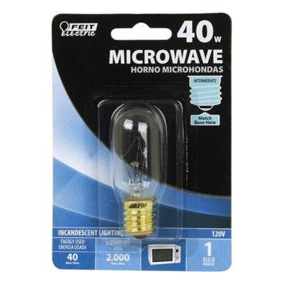 Buy Feit Electric 40 watt Incandescent T8 Microwave Oven Bulb Online
