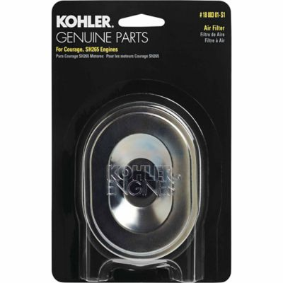 Kohler Air Filter/Precleaner Kit for Courage SH265 3000 Series