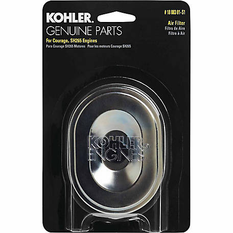 Kohler Air Filter/Precleaner Kit for Courage 3000 Series, 18 883 01-S1