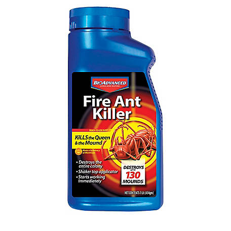 BioAdvanced Fire Ant Killer Dust, 16 fl. oz., 502832B