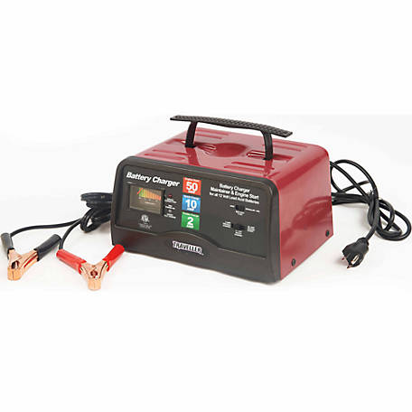Traveller 50AMP Automatic Battery Charger with Engine Start