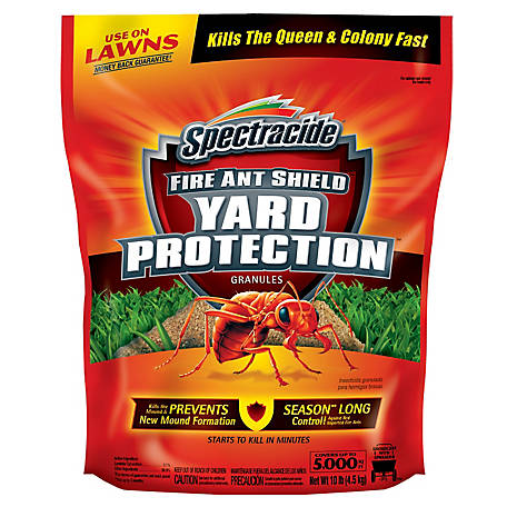 Spectracide Fire Ant Shield Yard Protection Granules, 10 lb., HG-96472