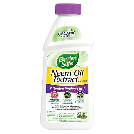 Garden Safe Neem Oil Extract Concentrate, 16 fl oz., HG-83179