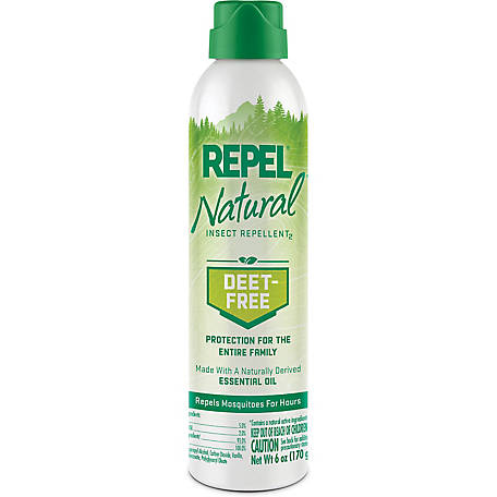 Repel Natural Insect Repellent, Aerosol, 6 oz., HG-94130