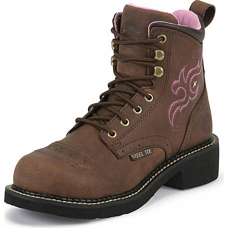 Justin Women's 6 in. Steel Toe Gypsy Cowgirl Collection Boot