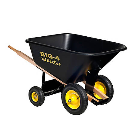 Big 4 Wheeler Wheelbarrow 10 Cu Ft At Tractor Supply Co