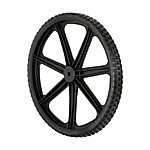 Rubbermaid Replacement 20 in. Wheel for 7.5 cu. ft. Big Wheel Cart