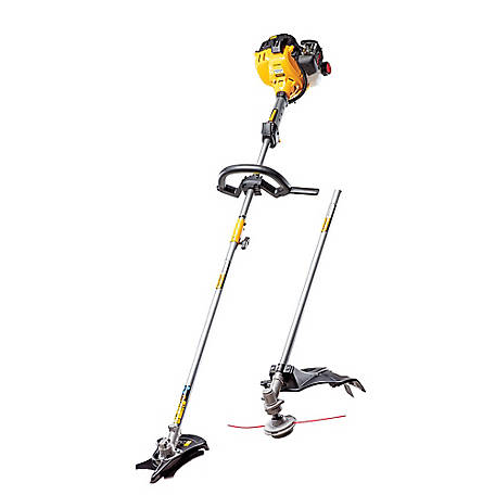 Cub Cadet BC280 27CC 2-Cycle 17 in. Straight Shaft Gas Trimmer/Brushcutter, 41ADZ28C912