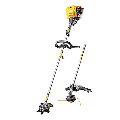 Cub Cadet BC490 25CC 4-Cycle 17 in. Straight Shaft Gas Trimmer/Brushcutter, 41AD490C912