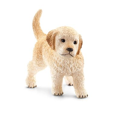 Schleich Golden Retriever Puppy Figurine