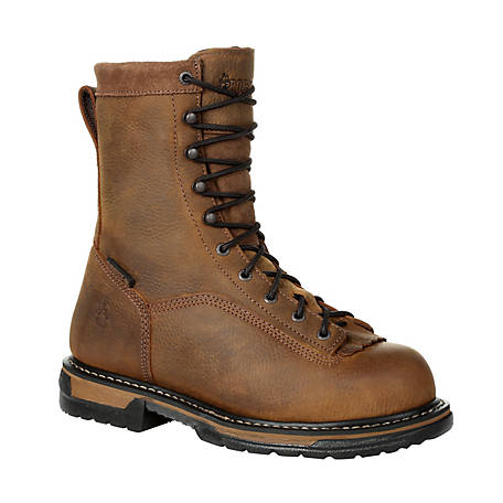 e8f32f9048d Rocky Men's 9 in. LTT Iron Clad Steel Toe Boot at Tractor Supply Co.
