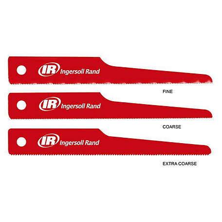 Ingersoll Rand 5 Piece Reciprocating Saw Blades Set