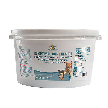 Pet's Choice Pharmaceuticals K9 Optimal Joint Health, 240 Soft Chews