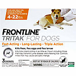 Frontline Tritak for Dogs 4-22 lb., 3 Month Supply