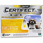 Certifect for Dogs 5-22 lb., 3 Month Supply