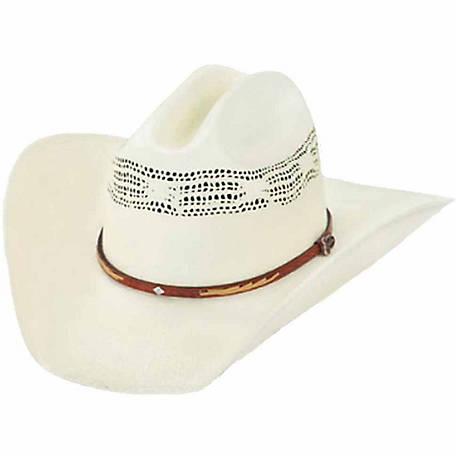 Justin Unisex Flagstaff Straw Cowboy Hat at Tractor Supply Co. c6ed0f0f06e