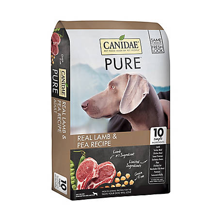 Canidae Pure Elements Real Lamb & Pea Recipe Dry Dog Food, 12 lb.