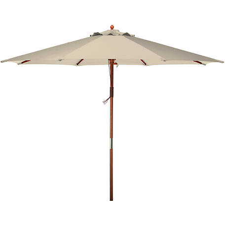 Bond 9 ft. Market Umbrella, Natural
