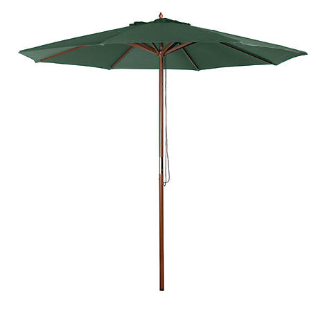 Bond 9 ft. Market Umbrella, Green