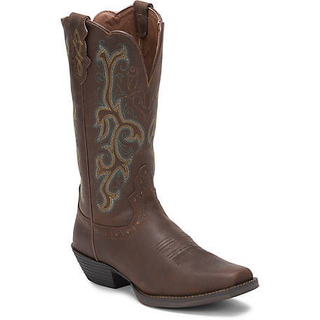 Justin Women's 12 in. Stampede Collection Boot