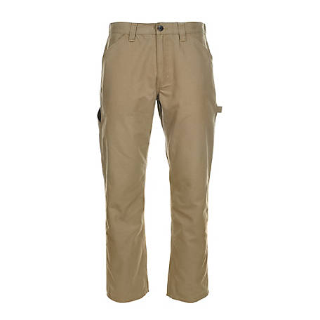 Blue Mountain Men's Utility Canvas Pant, Regular Fit FMB-1502