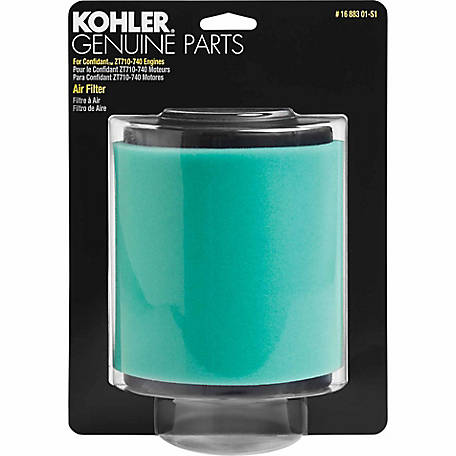 Kohler Air Filter/Precleaner Kit for ZT710-ZT740 HDAC, 16 883 01-S1