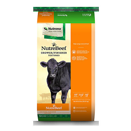 Nutrena NutreBeef Grower/Finisher, 50 lb.