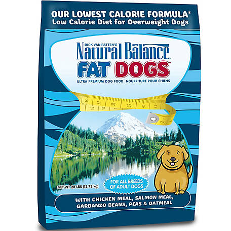 Natural Balance Fat Dogs Chicken Salmon Formula Low Calorie