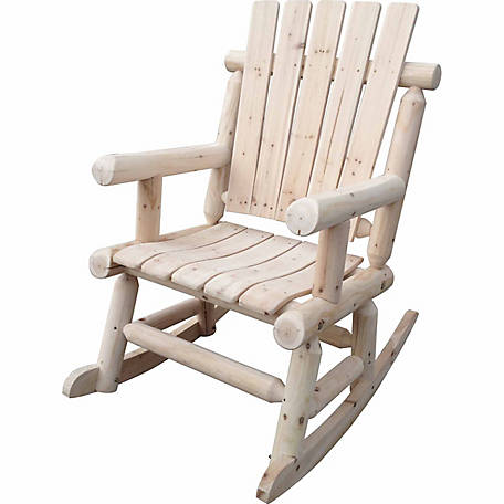 Leigh Country Single Rocker, Unfinished Natural