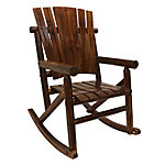 Leigh Country Char-log Single Rocker
