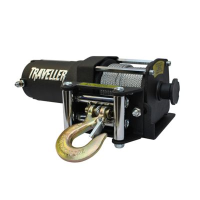 1078302?$470$ traveller 12v atv electric winch, 2,500 lb capacity at tractor traveller wireless remote control wiring diagram at bakdesigns.co