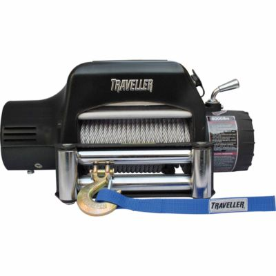Buy Traveller 12V Truck Electric Winch; 8;000 lb. Capacity Online