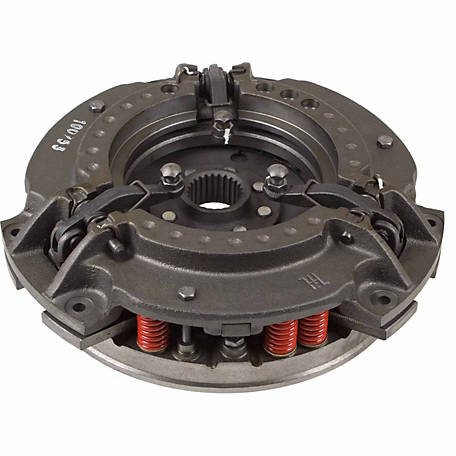 Tisco Double-Clutch Pressure Plate Assembly, 532320M91