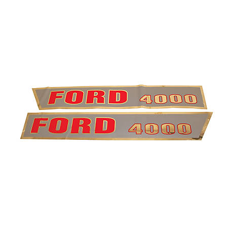 Tisco Hood Decal Set, D-F4000A