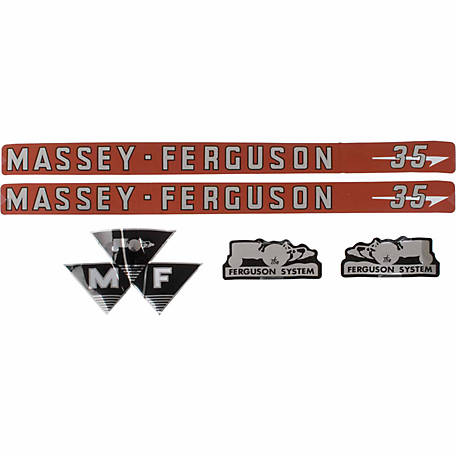 Tisco Decal Set, D-MF35