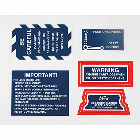Tisco Decal Set, 9N3947D