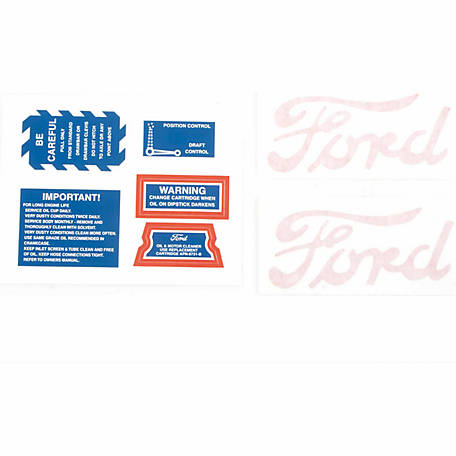 Tisco Decal Set, 8N4749D
