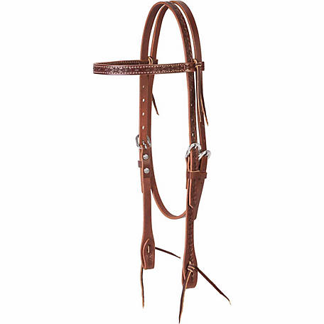 Weaver Leather Barbed Wire Browband Headstall