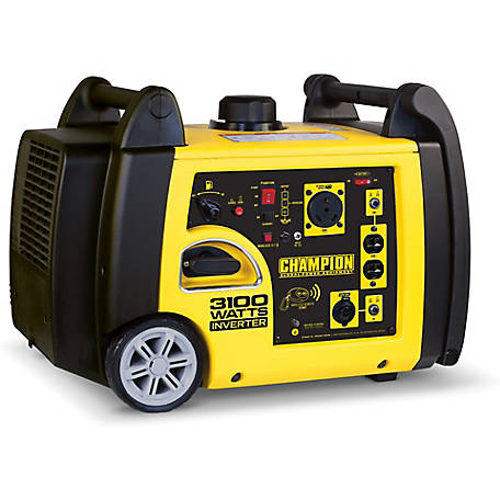 Champion Equipment 3100w Rv Ready Portable Inverter Generator With Wireless Remote Start At Tractor Supply Co