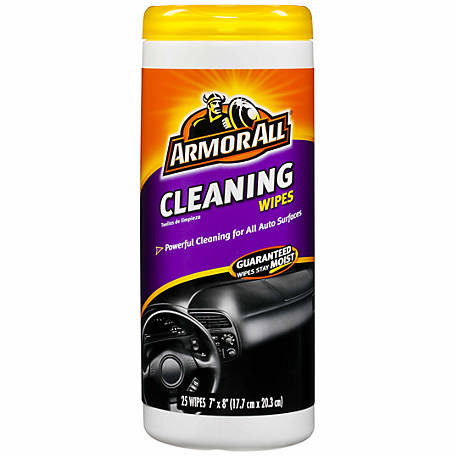 Armor All Cleaning Wipes, Pack of 25