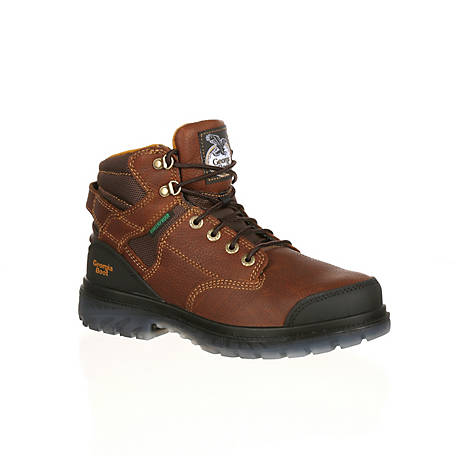 Georgia Boot Men's Zero Drag 6 in. Steel Toe Waterproof Work Boot