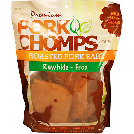 Pork Chomps Premium Roasted Pork Earz, Pack of 10